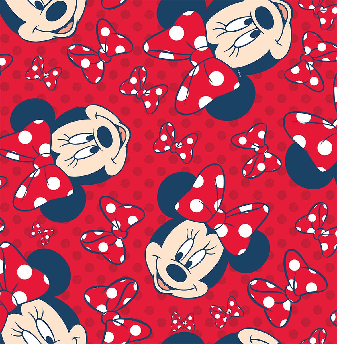 Red Minnie Mouse Wallpaper New Mickey Wallcovering