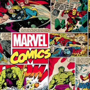 Marvels Comic Mural Wallpaper