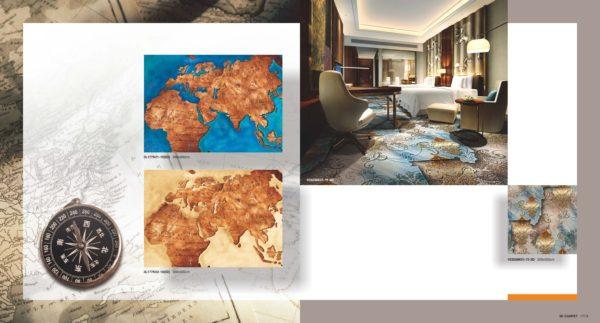 3D Carpet World Map