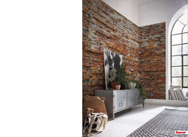 Brick Photomural Wallpaper