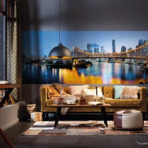 Brisbane Photo Mural Wallpaper