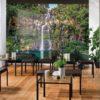 Cascade Photo Mural Wallpaper