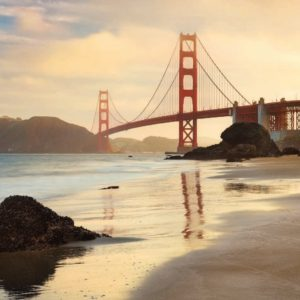 Golden Gate Mural Wallpaper