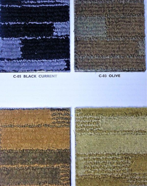 Patterned Carpet Roll