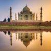 Taj Mahal Mural Wallpaper