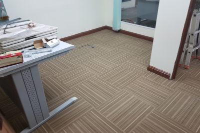 KLIA Custom Office Carpet Tiles Replacement