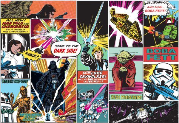 Star Wars Mural Wallpaper