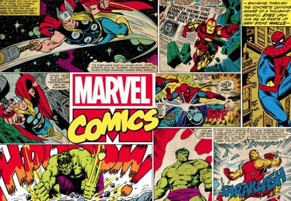 Marvels Comic Mural Wallpaper