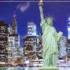Statue of Liberty Mural Wallpaper