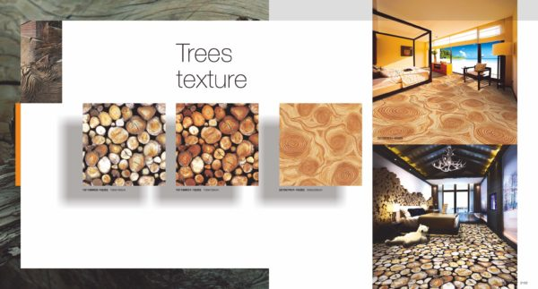 3D Carpet Trees Texture