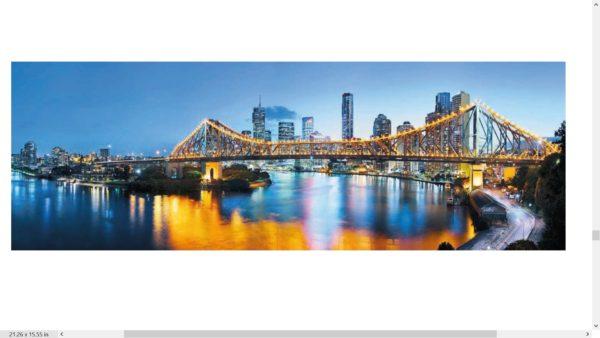 Brisbane Photo Mural Wallpaper
