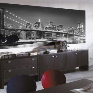Brooklyn Bridge Mural Wallpaper