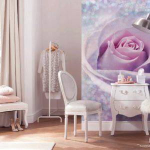 Delicate Rose Mural Wallpaper
