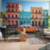 Havana Mural Wallpaper