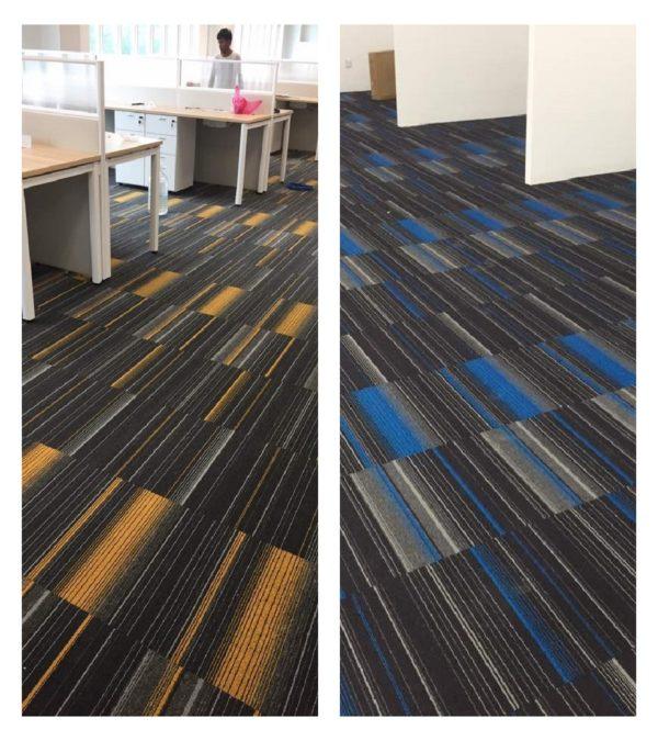 Colorful Carpet Tiles