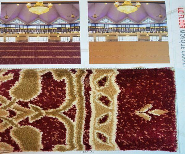 Al-Ansar Carpet Masjid Malaysia