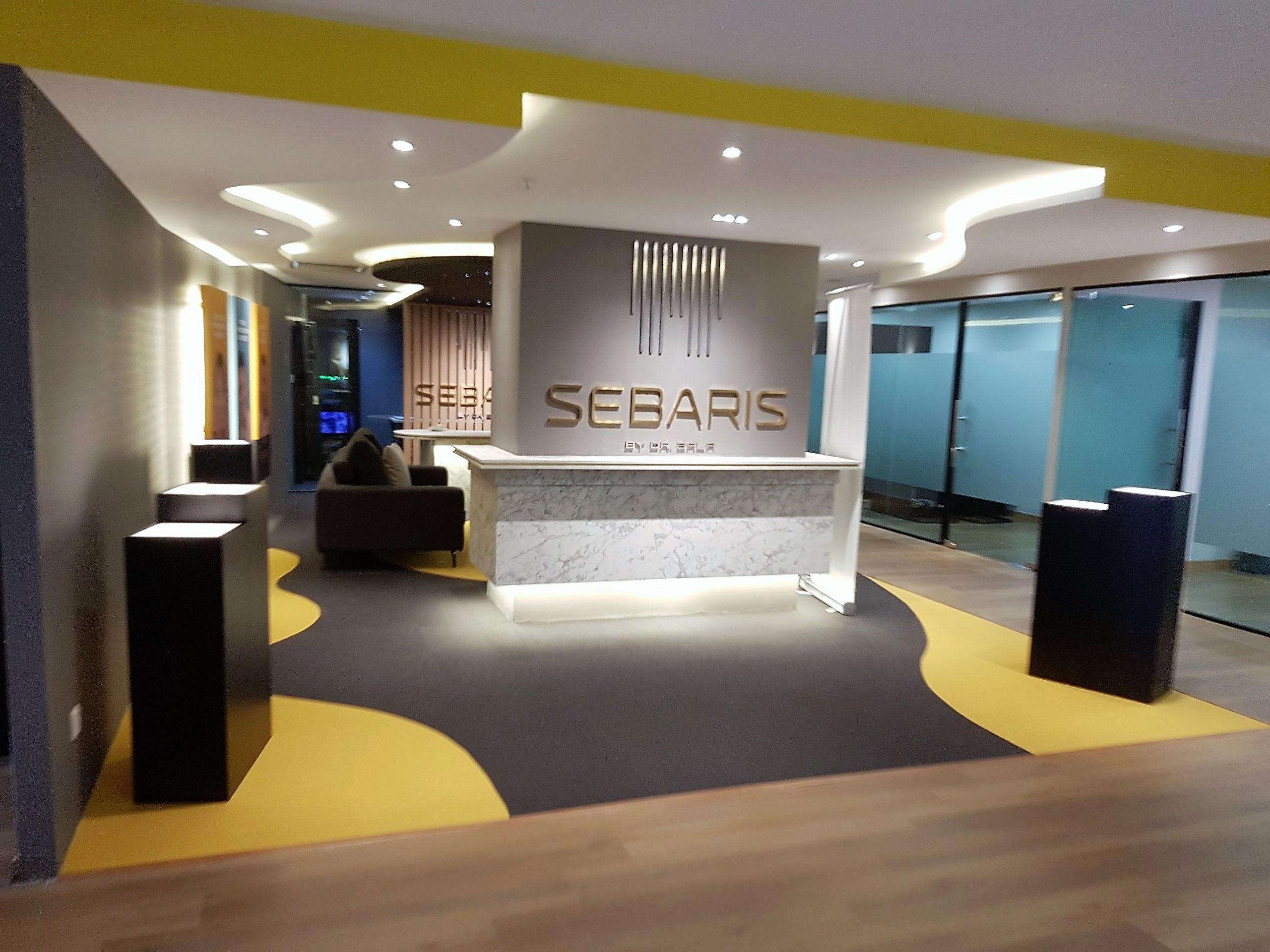 SEBARIS,KL- Customized Cut Nylon Carpet Tiles