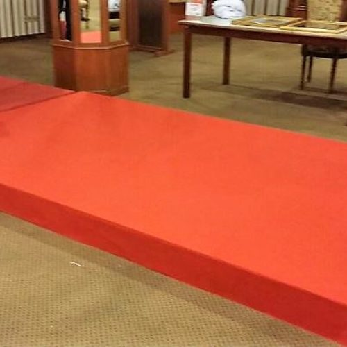 Royal Malaysian Police College – Stage Carpet Wrap