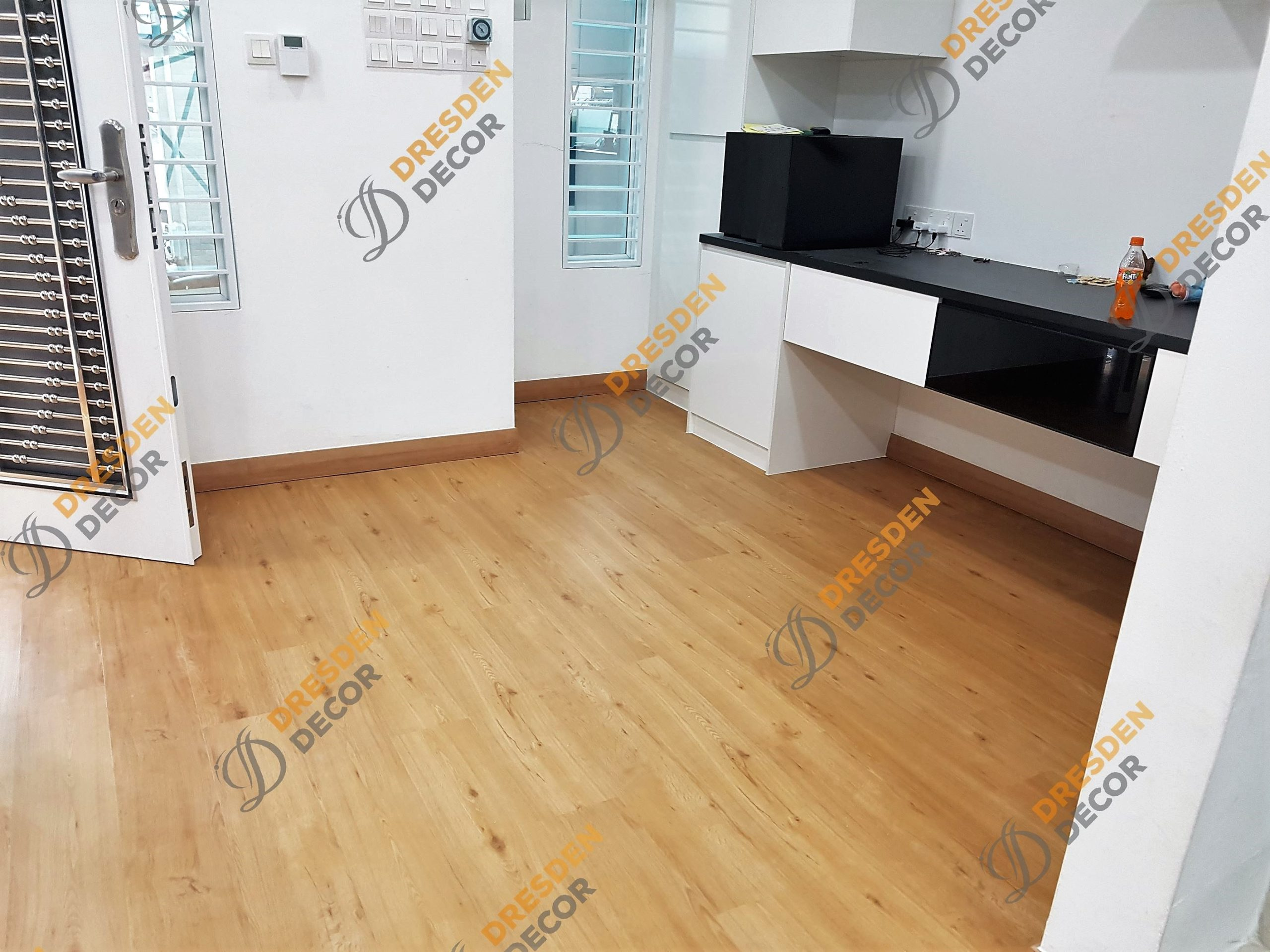 Residential Living Hall-4.0mm SPC