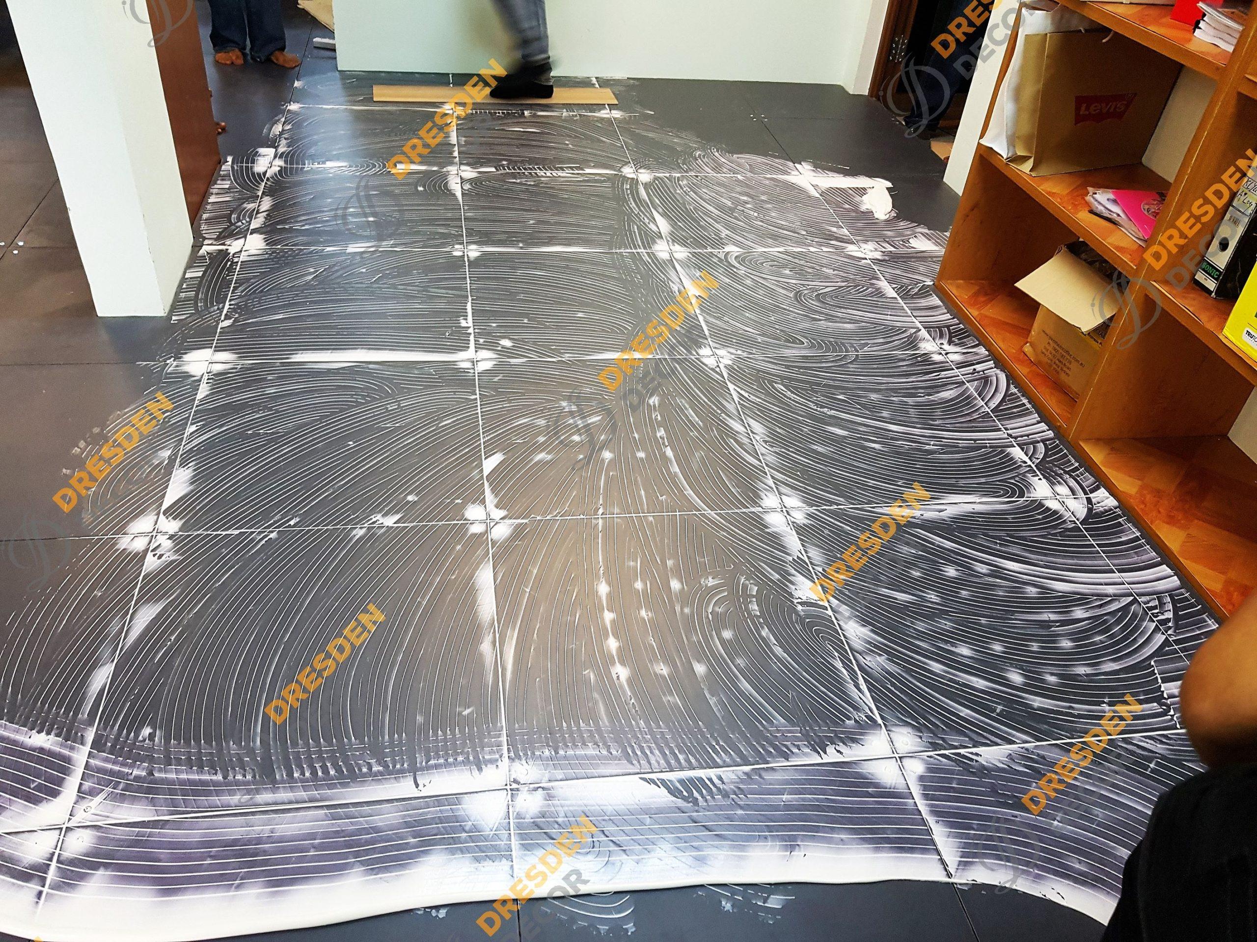 Raised Floor – 3.0mm Korean PVC Vinyl