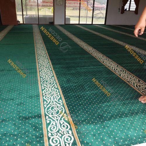 Surau Ipoh-Mosque Carpet