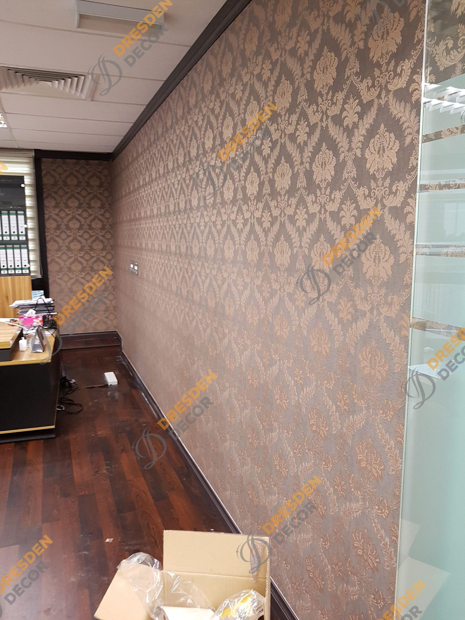 Paris Gallery Office-European&Msian Wallpaper