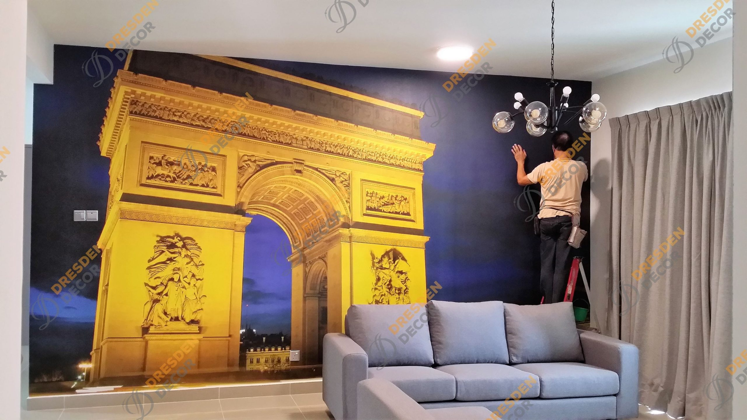 Amerin Residence 1- Photo Mural Wallpaper