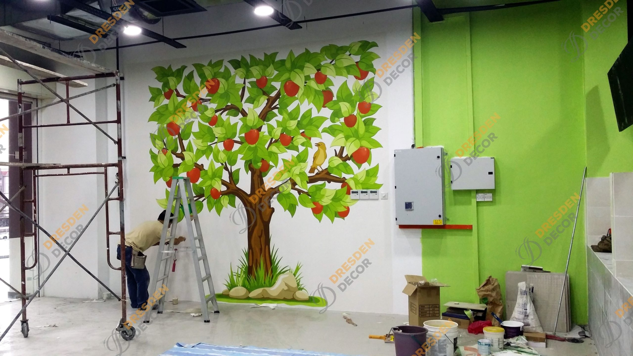 Amerin Mall Food Court – Photo Mural