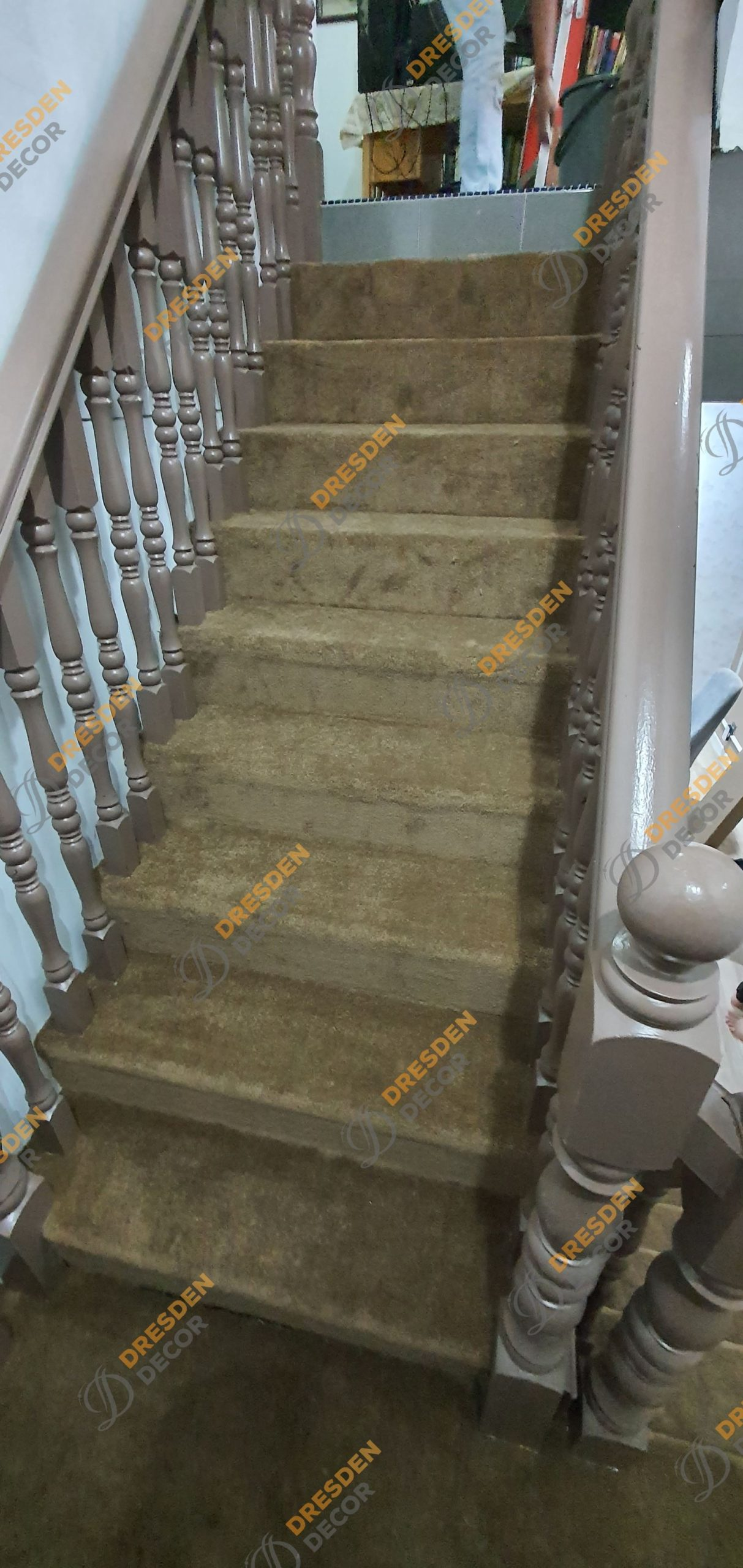 Private Residence-Staircase Carpet Roll