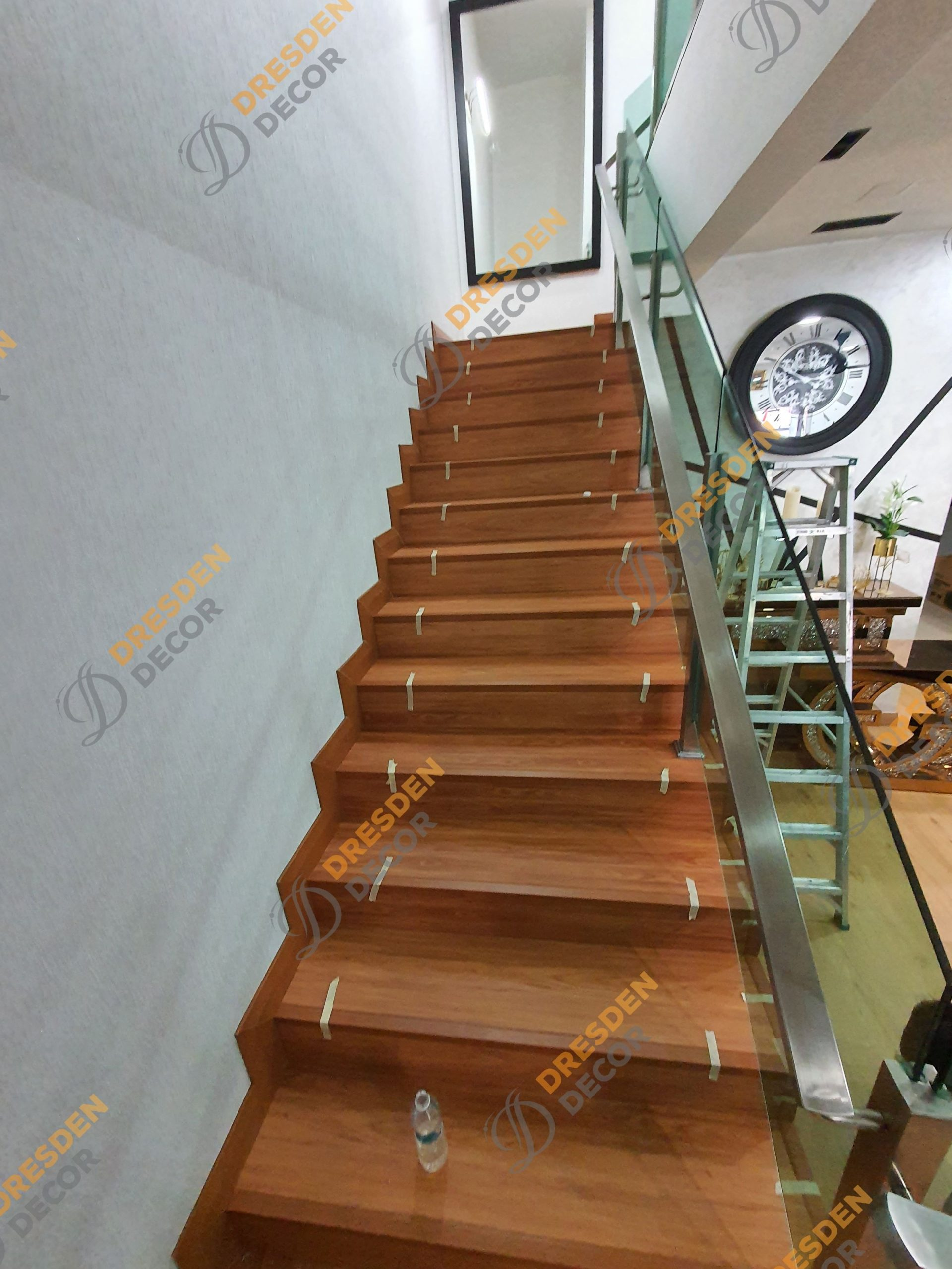 Private Residence-4.0mm SPC Room+Stairs