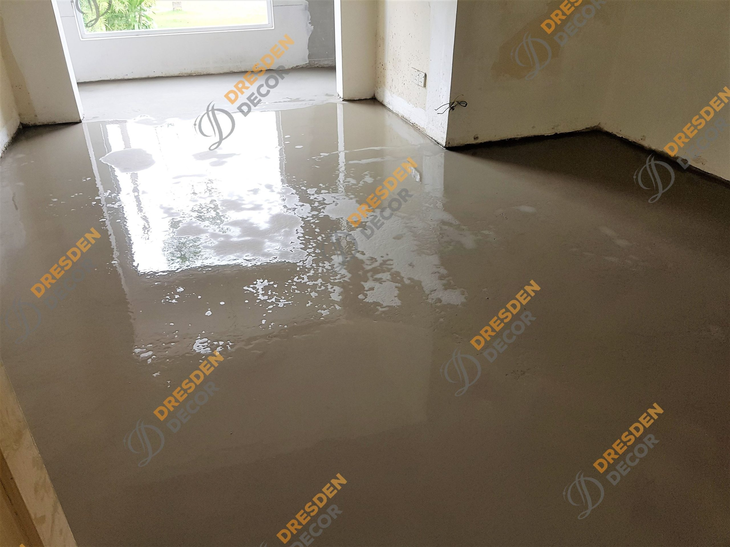 Private Residence-Self Leveling