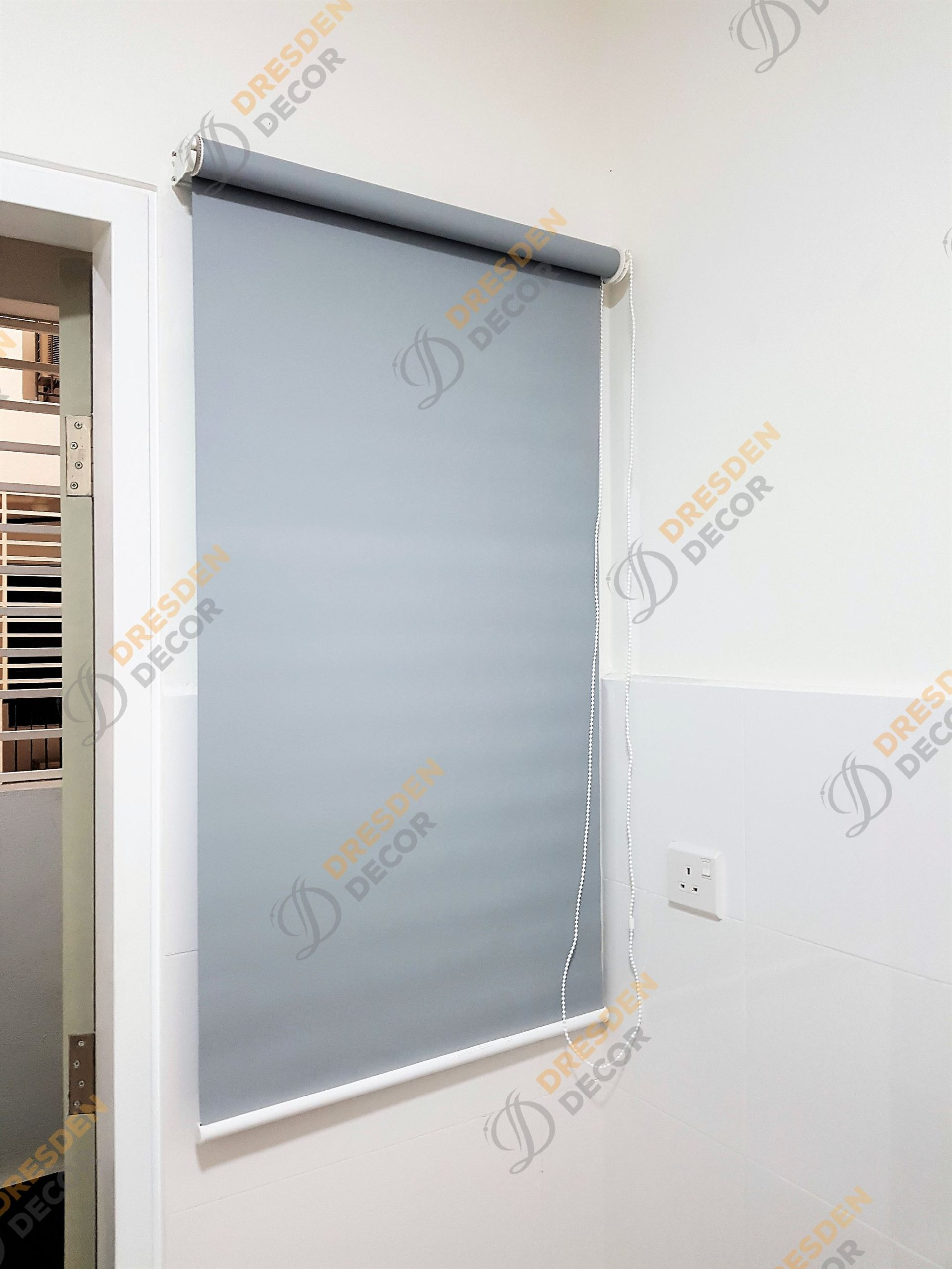 Blackout Roller Blinds-Private Condo
