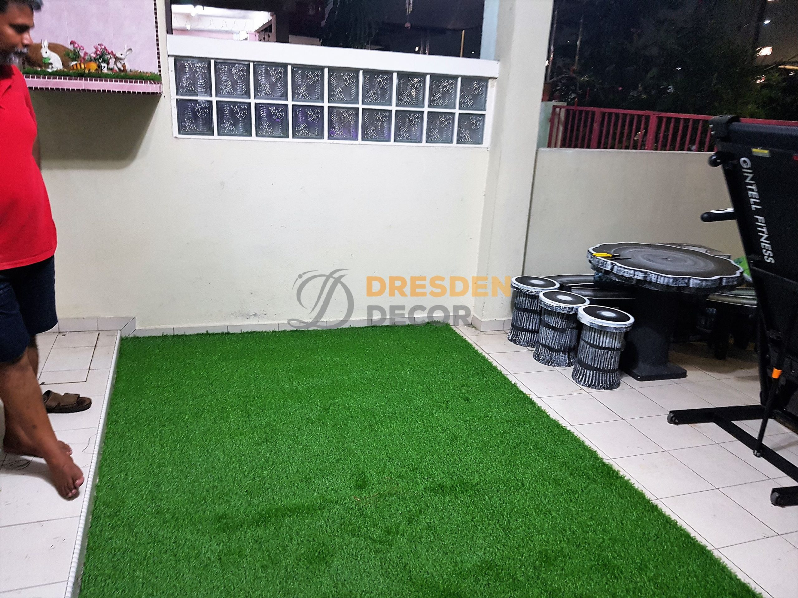 Private Residence Ipoh-25mm Grass Carpet